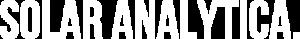 Solar Analytica Light Logo
